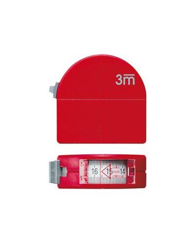 Flexómetro profesional con mirilla Format 3M