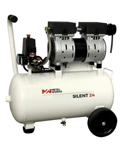 Compresor silencioso Metal Works 24L