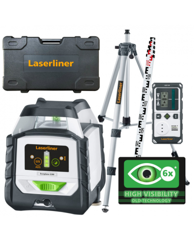 Laserliner Duraplane G360 RX SET