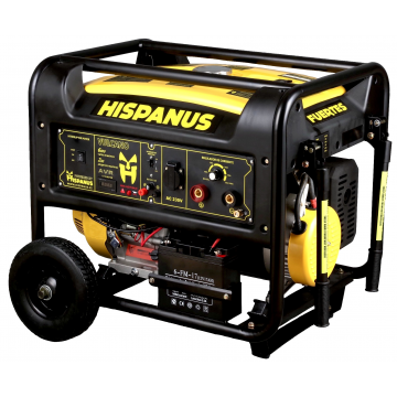 Generador con soldadura